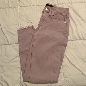 Lilac Gap Jeans